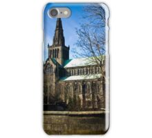 View on Glasgow Cathedral iPhone Case/Skin