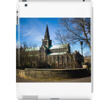 View on Glasgow Cathedral iPad Case/Skin