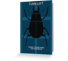 There's Something On Your Back Greeting Card