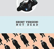 #sherlocklives by wncest