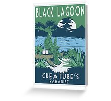 Black Lagoon Greeting Card