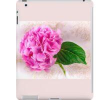 Vintage Pink Hydrangea  iPad Case/Skin
