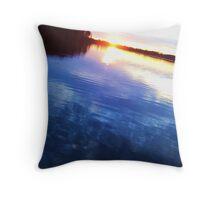 Lake Throw Pillow