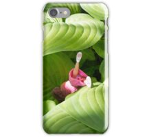 White shoes-pink dress iPhone Case/Skin