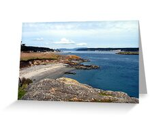 Cattle Point One Greeting Card