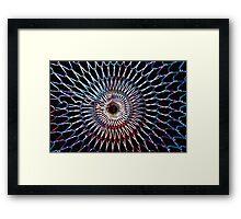 Metal Web Framed Print