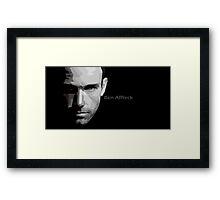 Ben Affleck portrait Framed Print