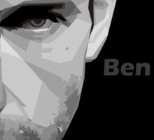 Ben Affleck portrait Sticker