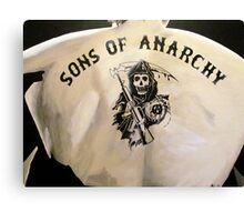sons of anarchy painting Canvas Print