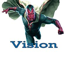 Vision-The Avengers  by morgangreen76