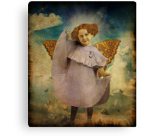 Tuesday's Child Is Full Of Grace Canvas Print
