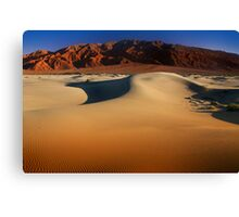 Sunset at Death Valley Canvas Print