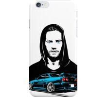 GTR x Paul Walker iPhone Case/Skin