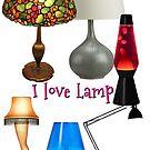 i love lamp by Rob  McDonald