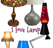i love lamp by Rob  McDonald
