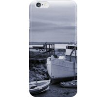 Moored in the Humber iPhone Case/Skin
