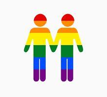 Gay couple pride flag Unisex T-Shirt