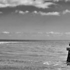 waiting by the shore ... by Piskins72