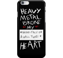 Fall Out Boy Centuries - Heavy Metal Broke My Heart iPhone Case/Skin