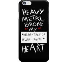 Fall Out Boy Centuries - Heavy Metal Broke My Heart iPhone Case/Skin