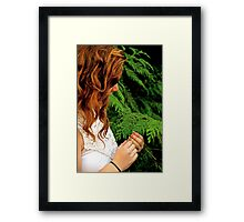 Green The Whole Year Round Framed Print