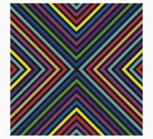 Varicolored squares, lines.  Kids Clothes