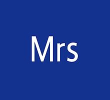 Mrs Adobe Photoshop Themed by 50mmFairy