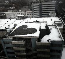 Heart of the city by Paya Ebrahimi