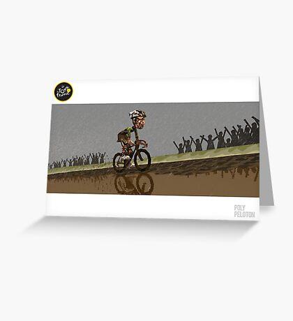 #PolyPeloton : BOOM! Greeting Card