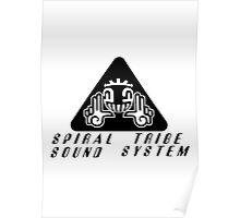 Spiral tribe Poster