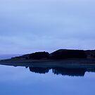 Lake Pukaiki reflections by Louise Marlborough