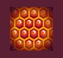 Bee honey cells.  Unisex T-Shirt
