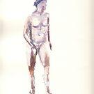 Life session nude 2 by J-C Saint-Pô