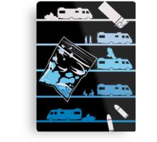 Tshirt Heisenberg - Tshirt Blue Meth Metal Print