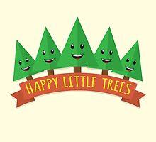 Happy Little Trees by renduh