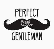 Perfect Little Gentleman One Piece - Long Sleeve