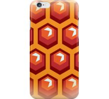 Bee honey cells.  iPhone Case/Skin