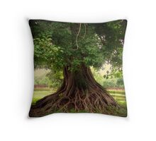 Roots 1/3 Throw Pillow