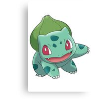 Bulbasaur Canvas Print