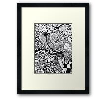 The pain of it all Framed Print