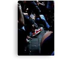red kicks Canvas Print