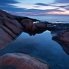 Hazard Rocks Twilight by Andrew Stockwell