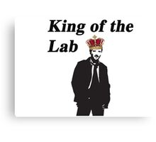 Hodgin's - Bones King of the lab Canvas Print