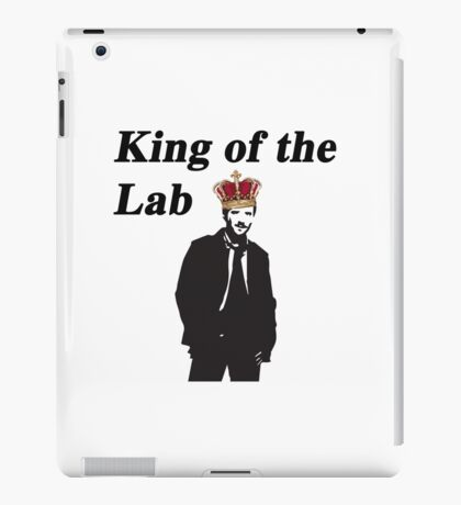 Hodgin's - Bones King of the lab iPad Case/Skin
