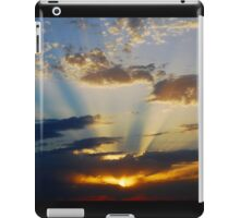 Rays at Sunset iPad Case/Skin