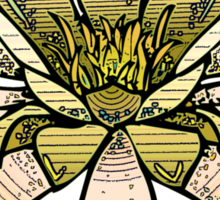 Yellow waterlily Sticker
