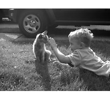 Friendly Feline Photographic Print