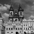 The Church of Our Lady before Teyn No. I by hynek