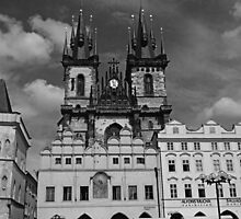 The Church of Our Lady before Teyn No. I by hynek