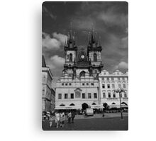 The Church of Our Lady before Teyn No. I Canvas Print